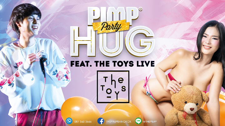 PIMP® Hug feat The Toys Live Concert