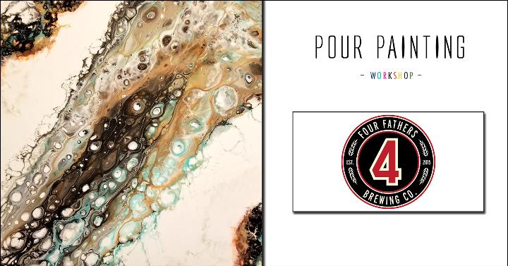 Pour Paint Workshop | Four Fathers Brewing
