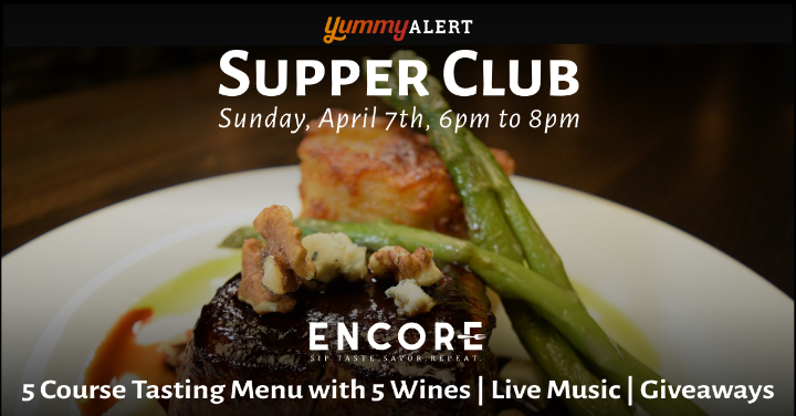 Yummy Alert Supper Club