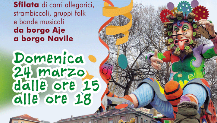 Carnevale Moncalierese 2019 in Centro