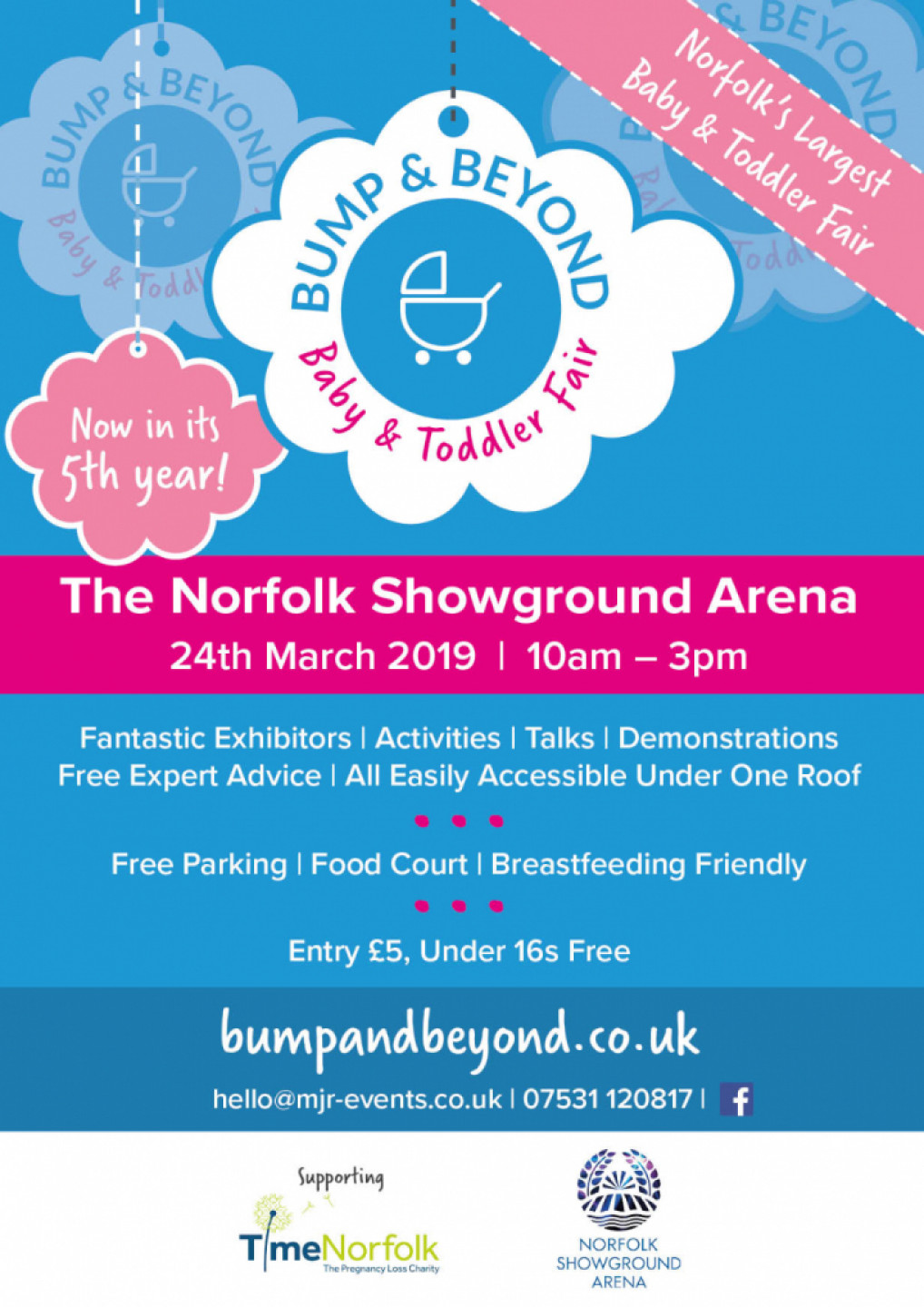 The Norfolk Bump & Beyond Baby and Toddler Fa