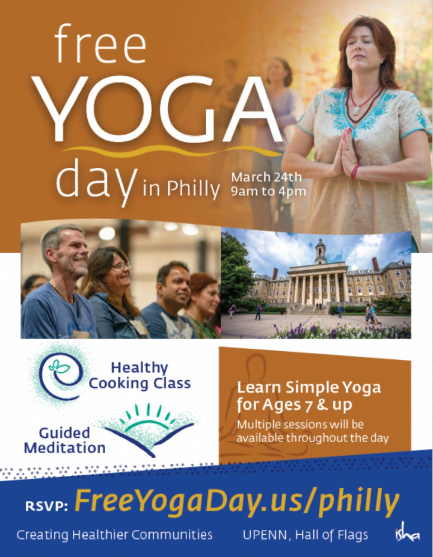 Free Yoga Day – Philadelphia