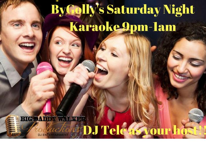 By Golly's Saturday Night Karaoke