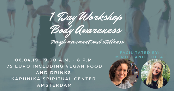 Body Awareness Workshop - 1 day