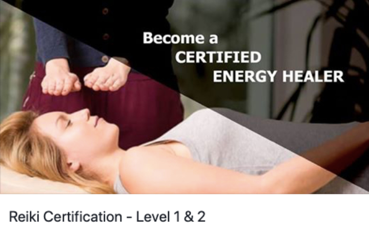 Reiki Certification - Level 1 & 2