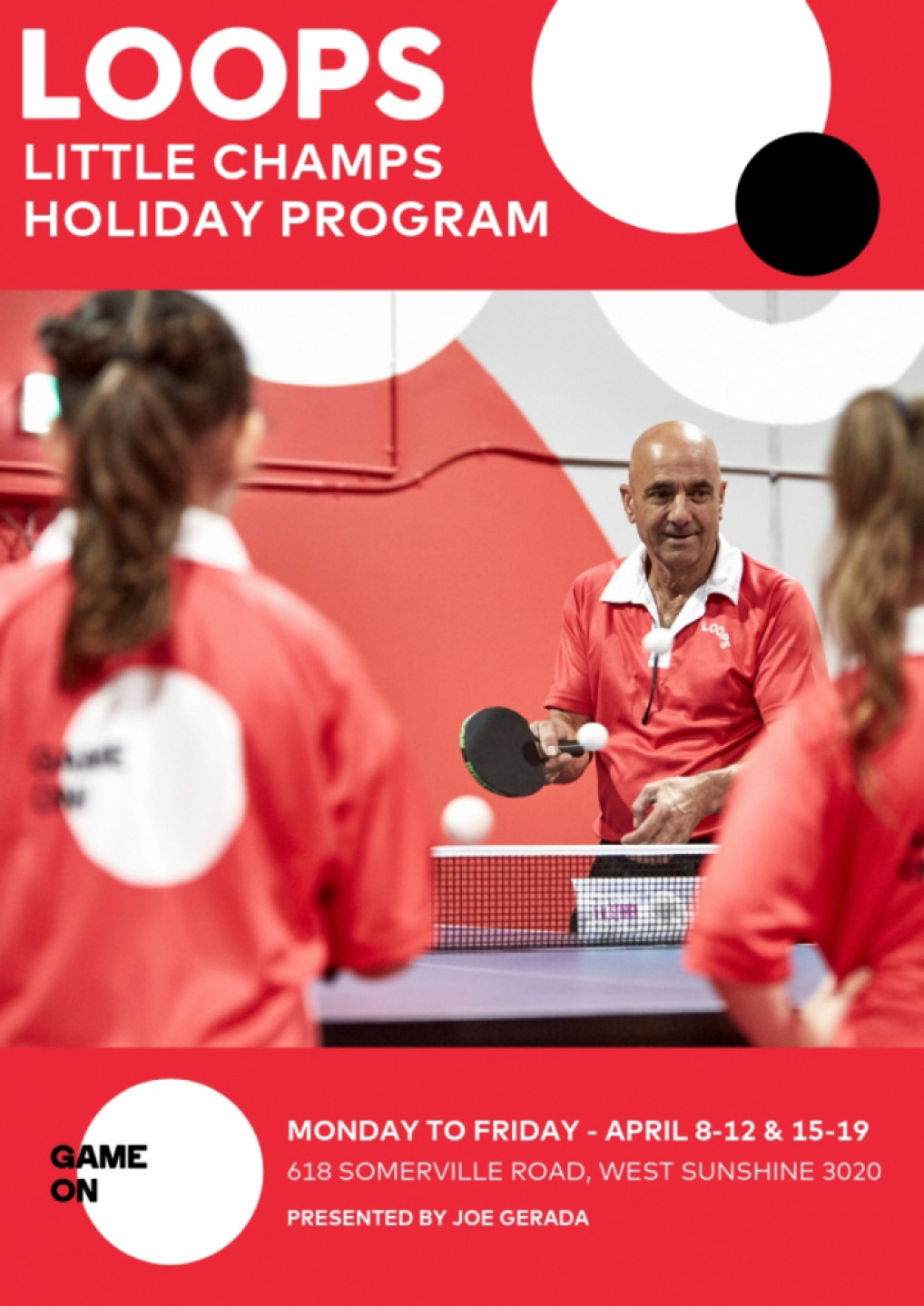 LITTLE CHAMPS HOLIDAY PROGRAMS