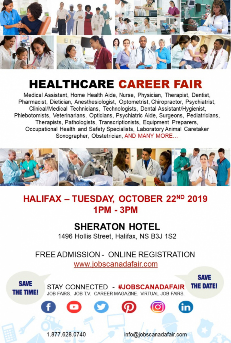 Halifax Healthcare Career Fair - October 22nd, 2019