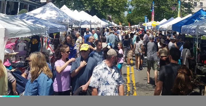 Nyack Famous Street Fair, Sun, May 19, Main St. & Broadway, Nyack, NY