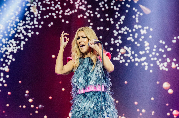 Celine Dion at Rogers Arena, Vancouver, BC