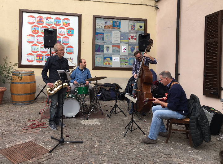 GOOD VIBRATION'S jazz 4tet @ Barolo Bar