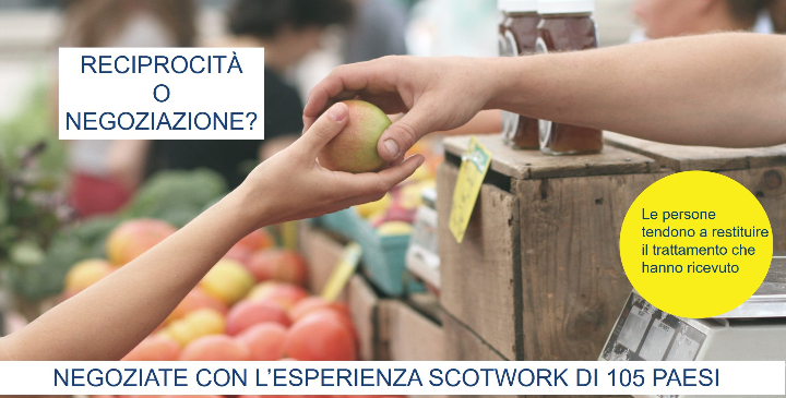 Master di Tecniche di Negoziazione Scotwork | Advancing Negotiation Skills