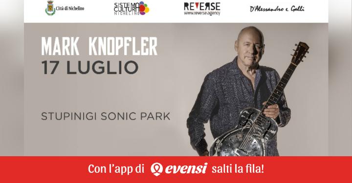 Mark Knopfler | Stupinigi Sonic Park