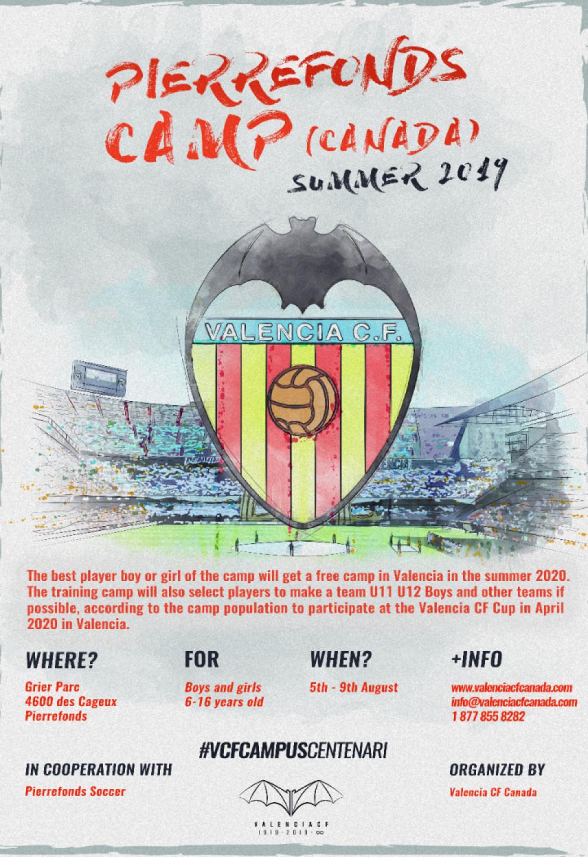 Valencia CF Training Camp Montreal