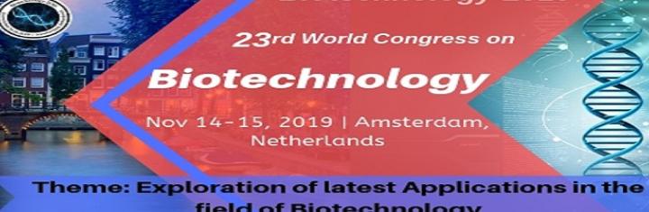 23rd World Congress on Biotechnology