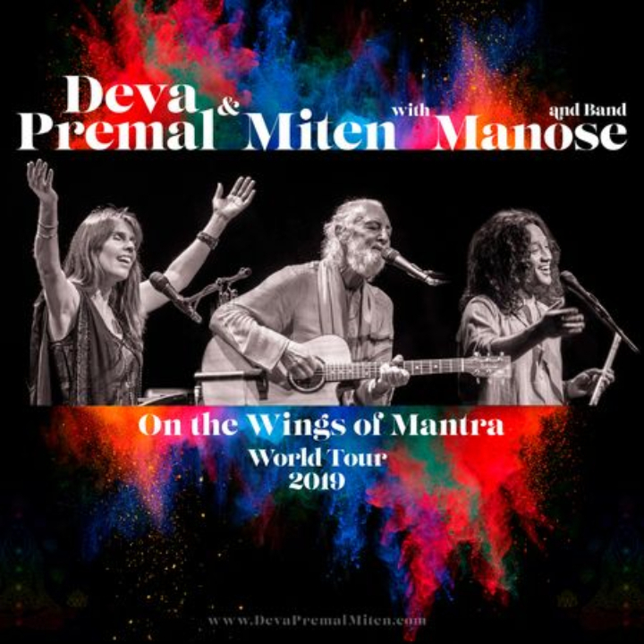 Deva Premal and Miten with Manose and band