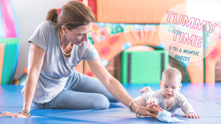 Tummy Time - Baby Workshop 0 to 6 months