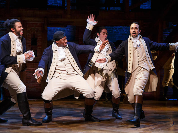 Hamilton at Hippodrome Theatre At The France-Merrick PAC, Baltimore, MD
