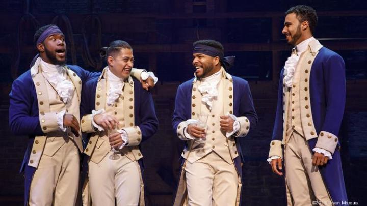 Hamilton at Richard Rodgers Theatre, New York, NY