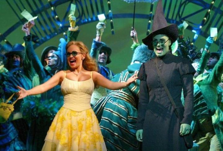 Wicked at Apollo Victoria Theatre, London, GL