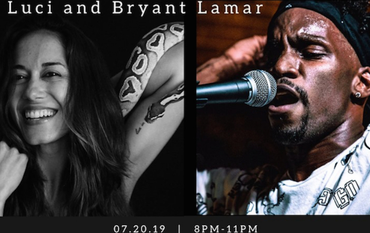 Luci Lampe and Bryant Lamar at Goodbar