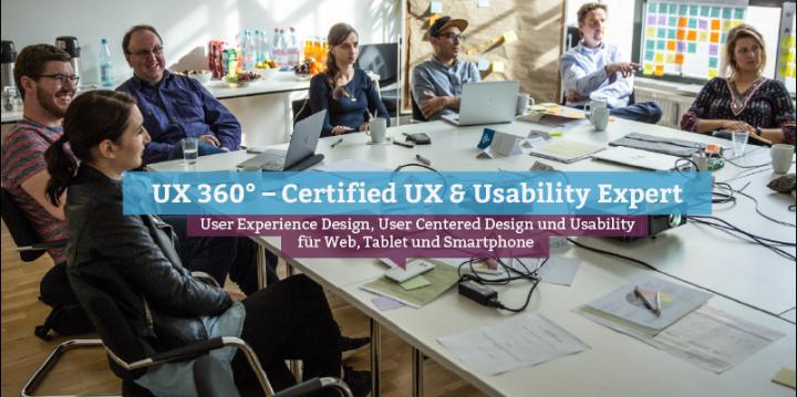UX 360° – Certified UX & Usability Expert, Berlin