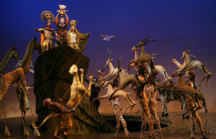 The Lion King at Lyceum Theatre , London, GL