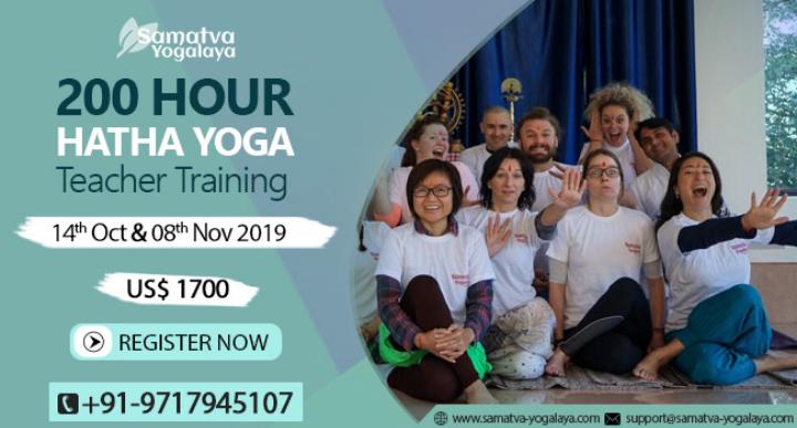 200 Hour Hatha Yoga Teacher Training in India
