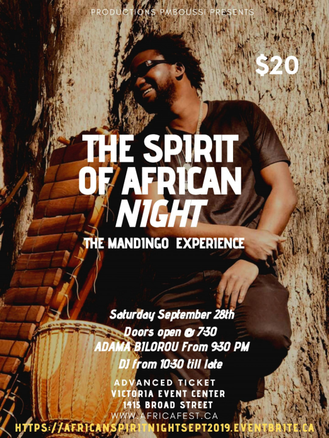 The Spirit Of Africa Night - Mandingo Experience