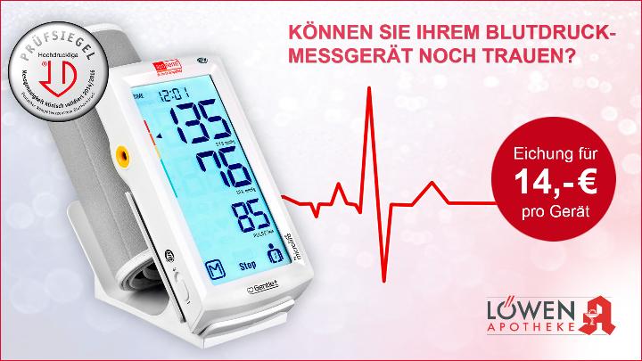Blutdruckmessgeräte Prüfung