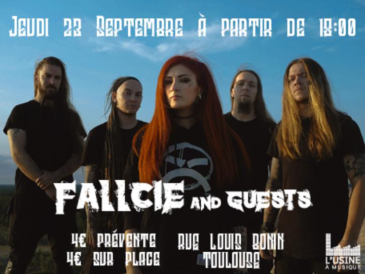 Fallcie + guests