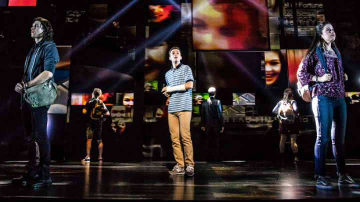 Dear Evan Hansen at Queen Elizabeth Theatre , Vancouver, BC