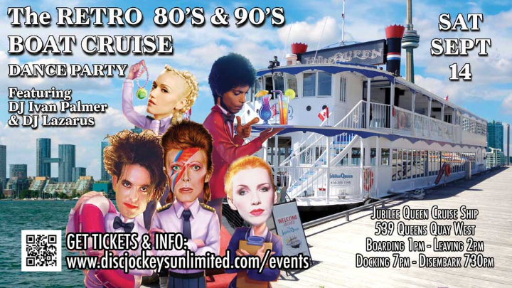 The Retro 80's and 90's Retro Cruise Dance Party P2