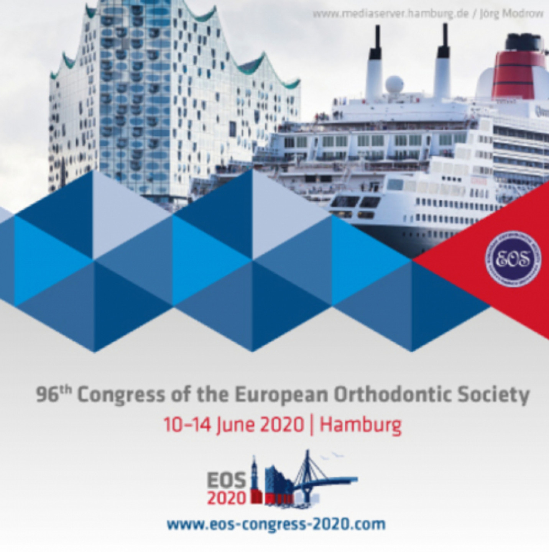 96th Congress of the European Orthodontic Society in Hamburg (EOS 2020)