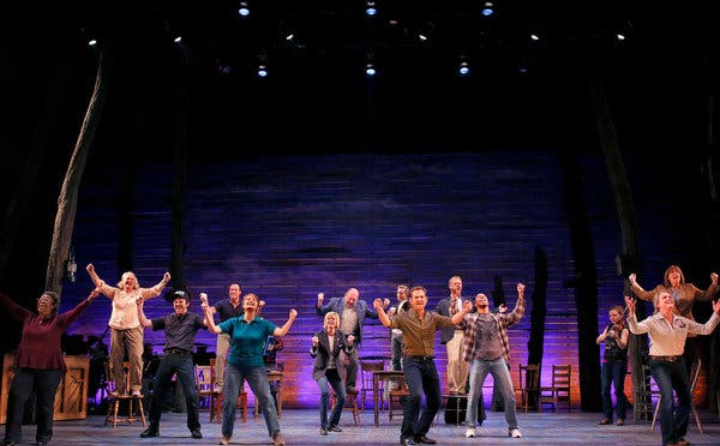 Come From Away at Gerald Schoenfeld Theatre, New York, NY