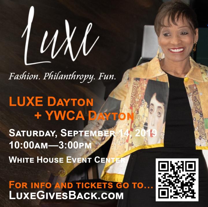 Runway Show and Designer Shopping LUXE Dayton + YWCA Dayton