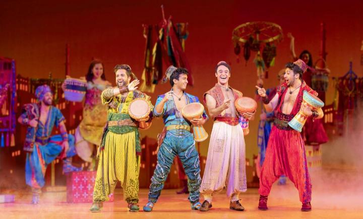 Aladdin at New Amsterdam Theatre, New York, NY
