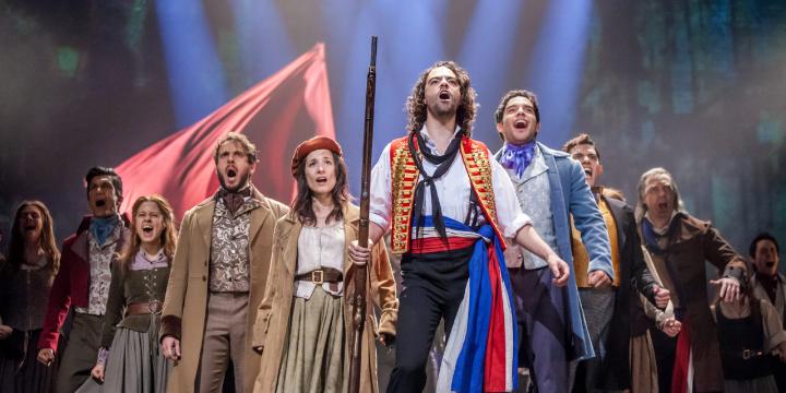 Les Miserables at The Plaza Theatre, El Paso, TX