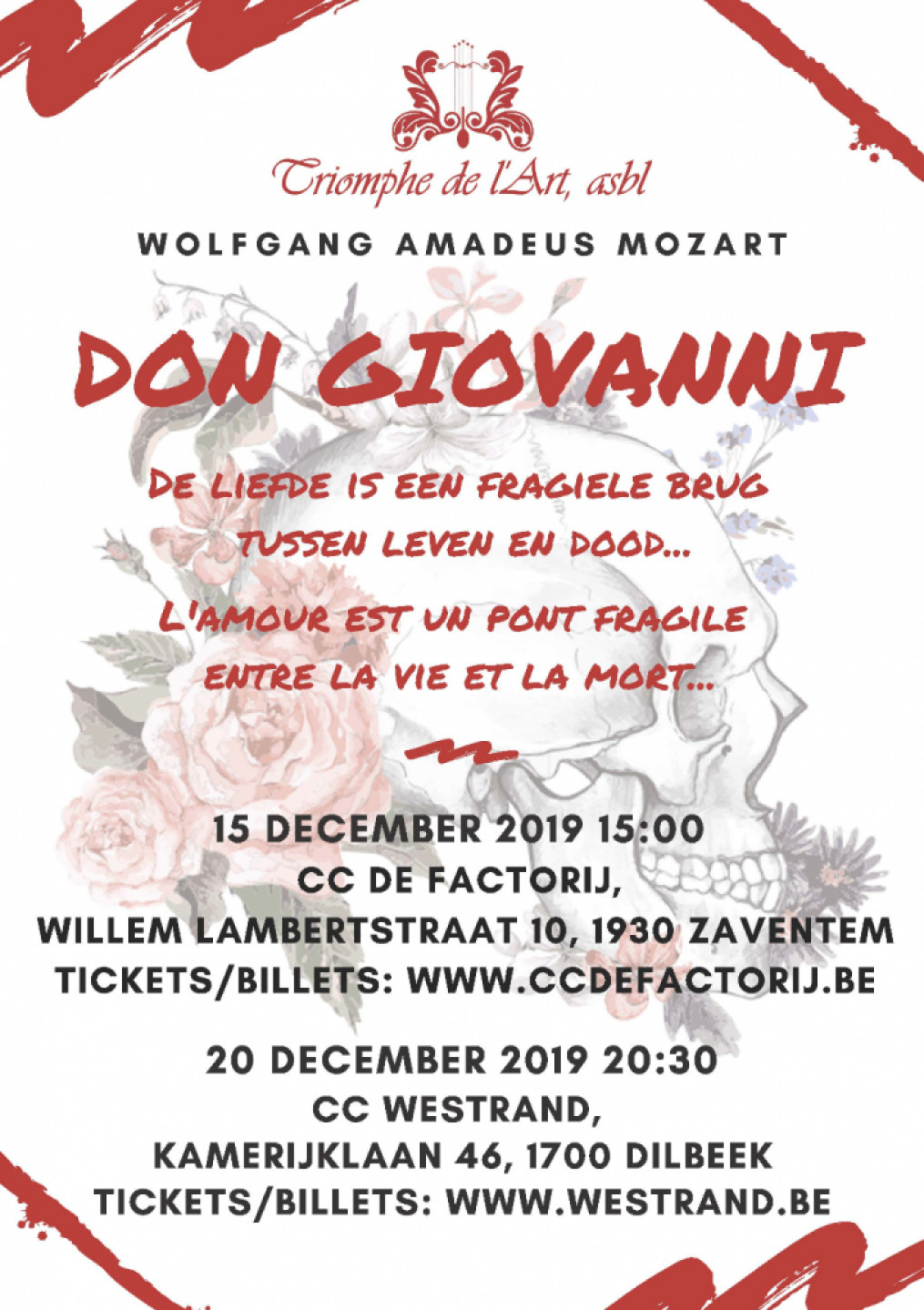 Opera Don Giovanni of W.A. Mozart