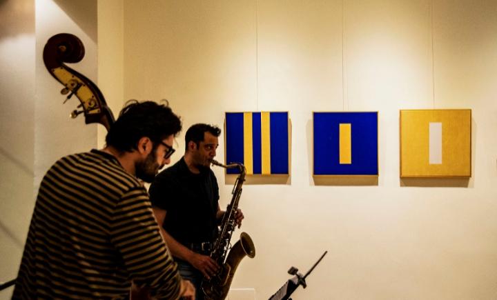 """Mostra personale di Regina Noakes e Mostra collettiva """"Rhythms of emotions"""""""