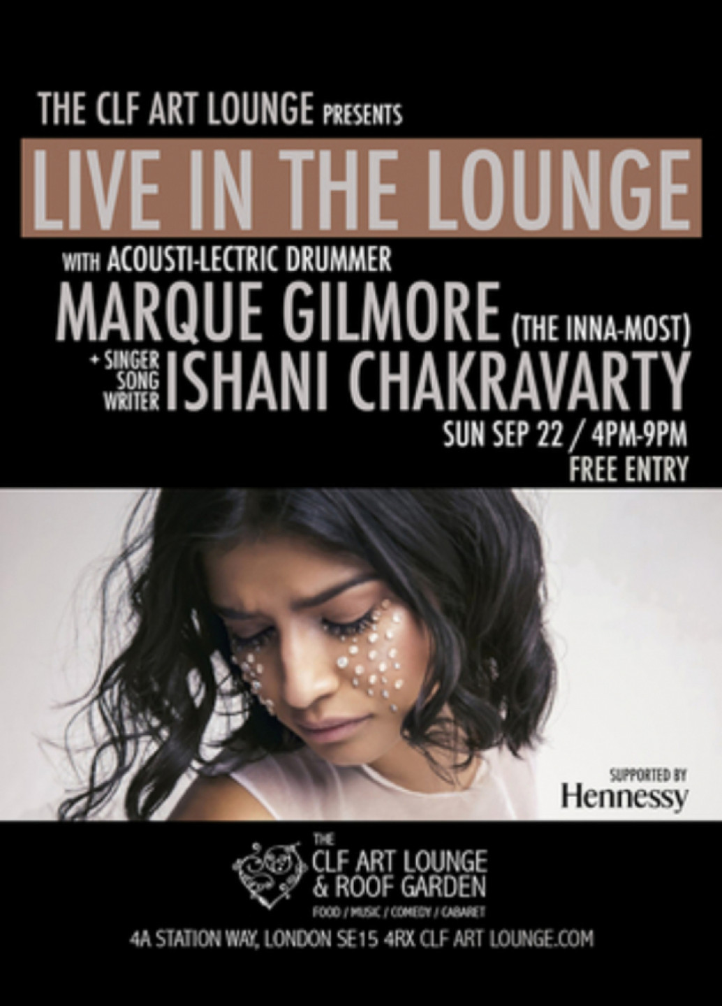 Ishani x Marque Gilmore - Live in the Lounge