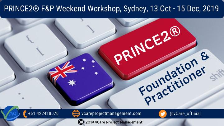 Prince2 Foundation and Practitioner | Training| Weekend | Workshop | Sydney | October - December 2019