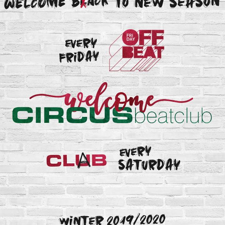 Circus Brescia, inizio col botto: 20/9 Off Beat, 21/9 Clab