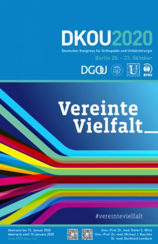 DKOU 2020 - German Congress of Orthopaedics and Traumatology