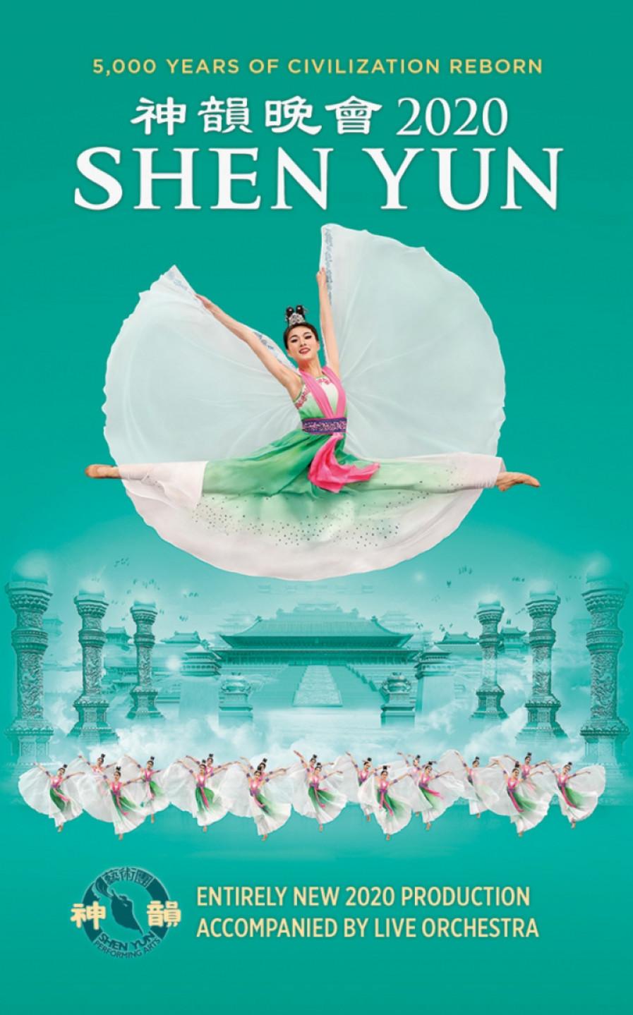 Shen Yun 2020 World Tour - Brugge