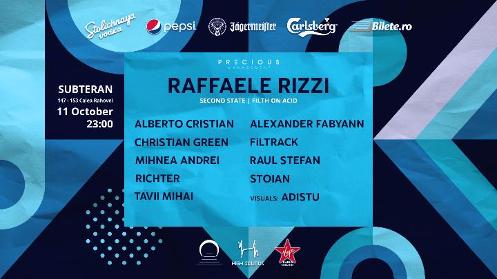 2nd anniversary w/ Raffaele Rizzi and HS squad at Subteran