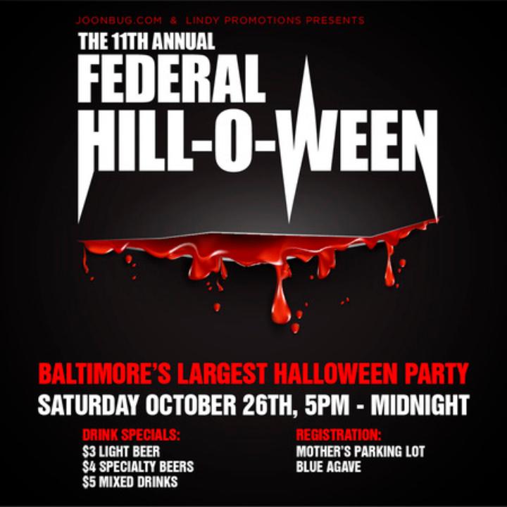 Federal Hill Halloween Bar Crawl 2020 Baltimore Halloween Event 11th Annual Federal Hill O Ween Bar