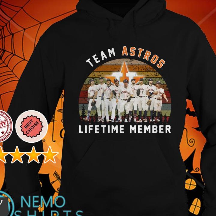 Team Houston Astros lifetime member vintage shirt