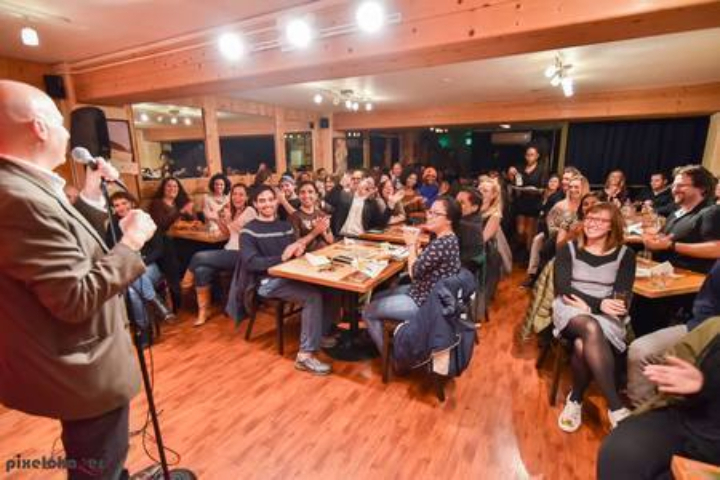 Comedy Machine - Every Saturday at 7pm in December: Dec 7, 14, 21 and 28