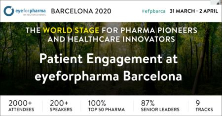 Patient Engagement at eyeforpharma Barcelona