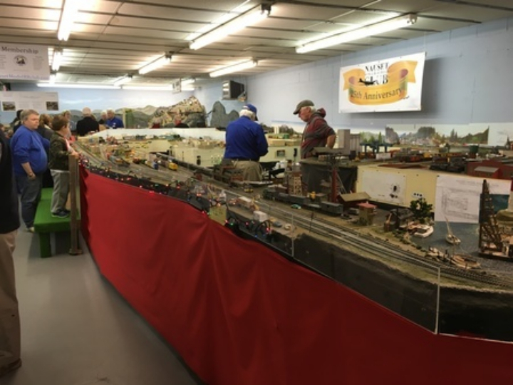 Nauset Model Railroad Club SATURDAY OPEN HOUSES